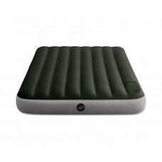 Матрас надувной полуторный INTEX 64762 Downy Airbed With Fiber-Tech, 137 х 191 х 25 см.