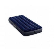 Матрас надувной односпальный INTEX 64756 Classic Downy Airbed With Fiber-Tech, 76 х 191 х 25 см.