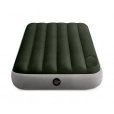 Матрас надувной односпальный INTEX 64760 Downy Airbed With Fiber-Tech, 76 х 191 х 25 см.