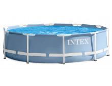 Бассейн каркасный сборный INTEX 26700/28700 Prism Frame Premium Pool, круглый 305 х 76 см.