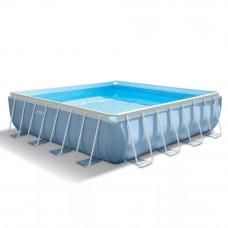 Каркасный бассейн для дома intex 28766, 488х488х122 см