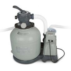 Песочный фильтр-насос intex 26652, 10 м3/ч