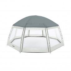 Шатер купольный BestWay 58612 Round pool dome для бассейнов, 600 х 600 х 295 см. (мобильный павильон)