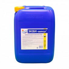 ЭКВИ-МИНУС, канистра 20 л., жидкость для понижения уровня рН воды
