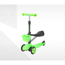 Самокат-беговел ТТ Sky Scooter new, зеленый