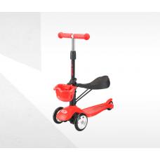 Самокат-беговел ТТ Sky Scooter new, красный