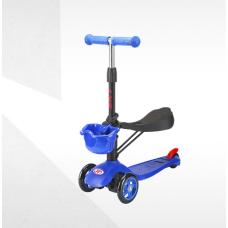 Самокат-беговел ТТ Sky Scooter new, синий