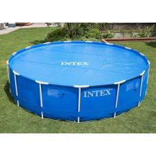 Обогревающее покрывало intex 29022, диаметр 366 см
