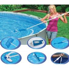 Комплект для чистки бассейна intex 28003, 279см