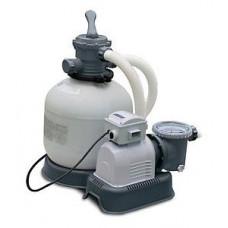 Песочный фильтр-насос intex 26646, 6056 л/ч