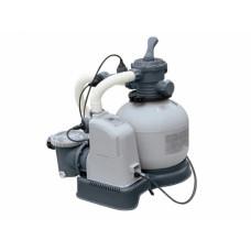 Песочный фильтр-насос + хлоргенератор intex 26680, 10000 л/ч