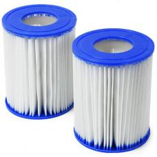 Картридж сменный для фильтрующего насоса bestway 58094, (упаковка 2 шт)