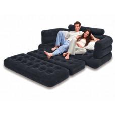 Диван-кровать надувная  intex 68566, 193х231х71см