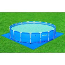 Подстилка для бассейна bestway 58031, 579х579см