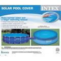 Обогревающее покрывало для бассейна диаметром 305см, intex 29021